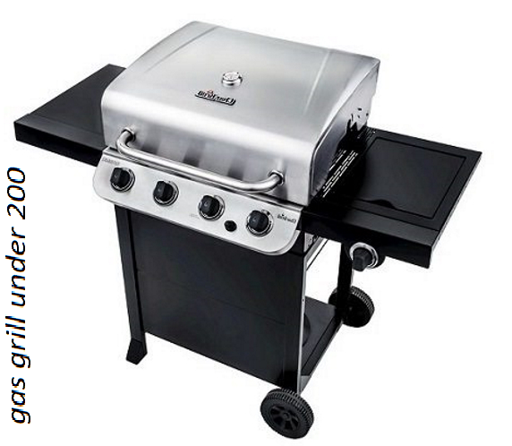 gas grill under 200