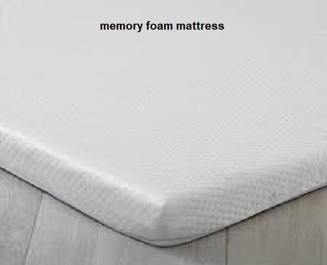 Memory foam mattress
